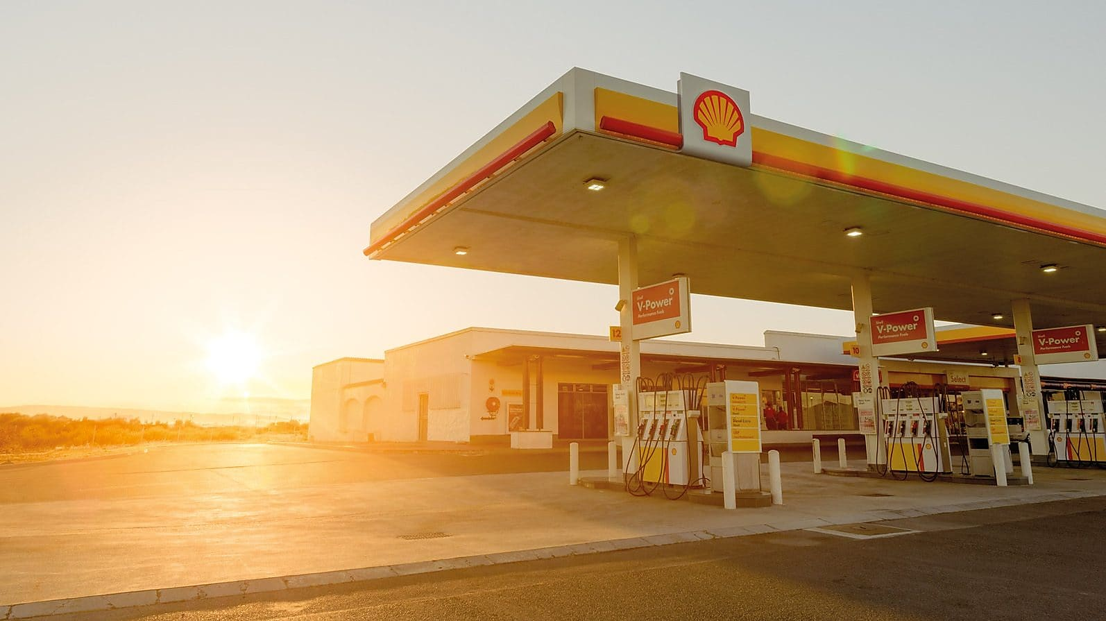 Shell fuel prices